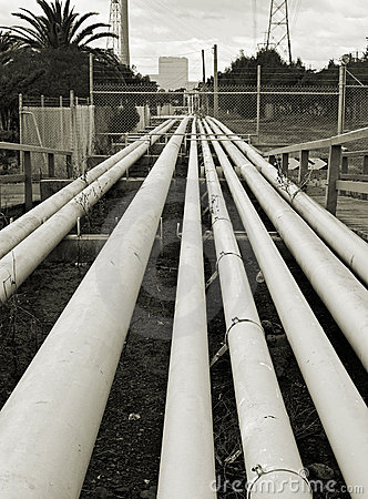 Free Black And White Pipes Stock Images - 4025884