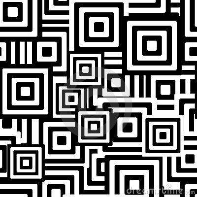 Free Black And White Seamless Pattern Stock Images - 4589884