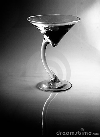 Free Black And White Vodka Gin Martini, Appletini, Or Cocktail Stock Images - 971914