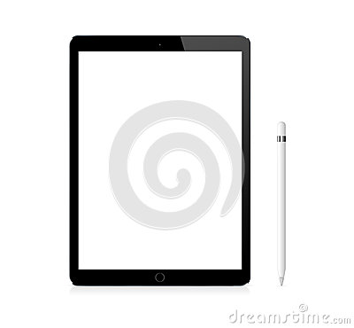 Free Black Apple IPad Pro Portable Device With Pencil Royalty Free Stock Photos - 64174598