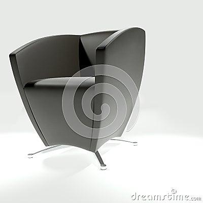 Free Black Armchair Stock Photo - 18757330