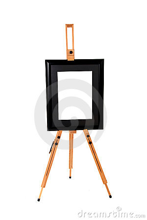 Black artwork frame
