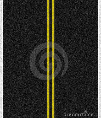 Black Asphalt Road