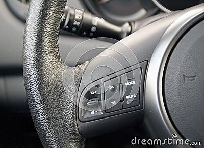Black auto wheel