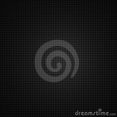 Black background of circle pattern