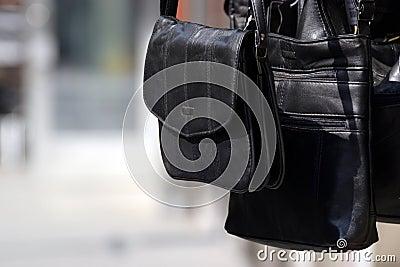 A black bag