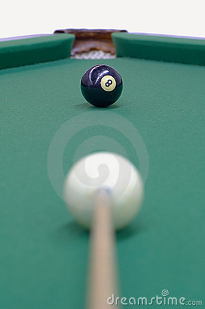 Free Black Ball Is Being Aimed Royalty Free Stock Photo - 7036175