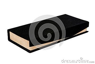 Black and beige velvet gift box