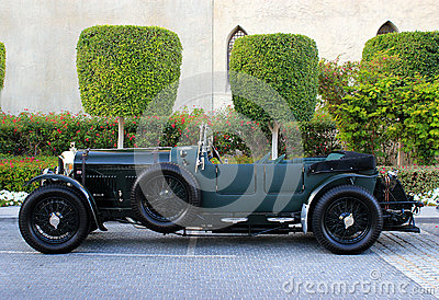 Black Bentley 1925 Editorial Photo