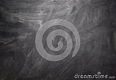 Black Blank Chalkboard Background