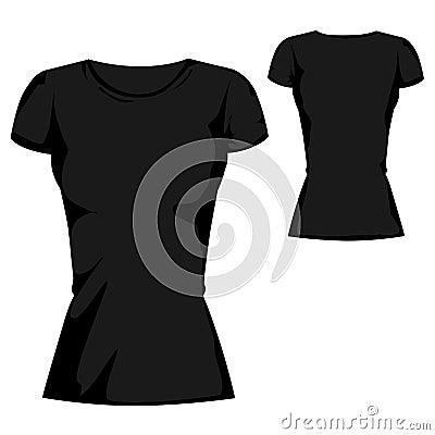 blank t shirt outline. BLACK BLANK T-SHIRT DESIGN