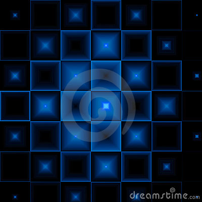Black-blue abstract background