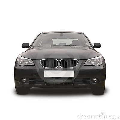Black BMW sports car