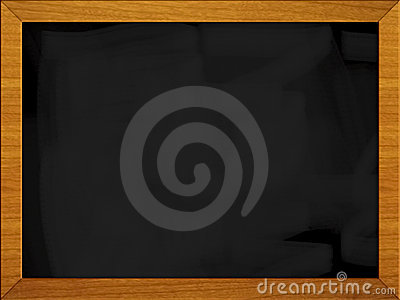 Black board - school blackboard (1 of 3)