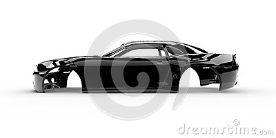 Black body car
