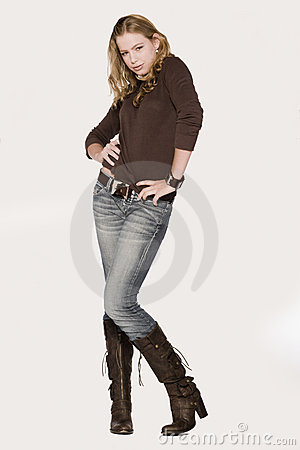 Free Black Boots Stock Photography - 1798642