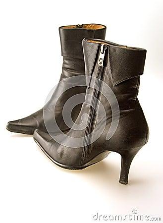 Free Black Boots Royalty Free Stock Photos - 6871648
