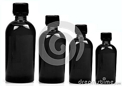 Black bottles