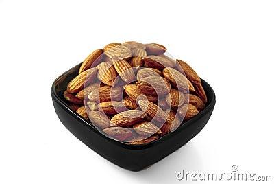 Black Bowl of Almonds