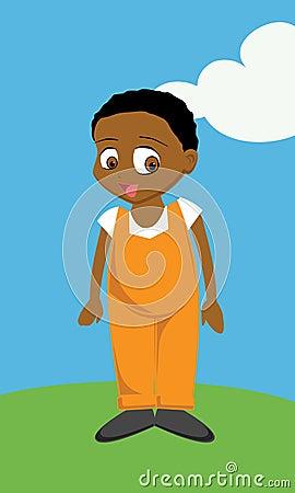 Black Boy overalls