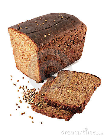 Black bread.