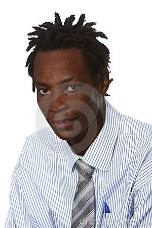 Black Businessman With Dreadlocks Stock Photography - Image: 14123112