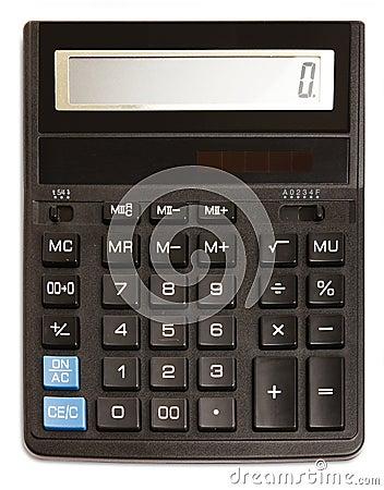 Free Black Calculator Royalty Free Stock Image - 16764156