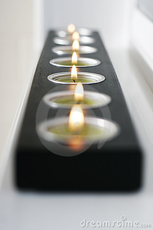 Free Black Candle Stock Photography - 1031972