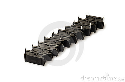 Black capacitors