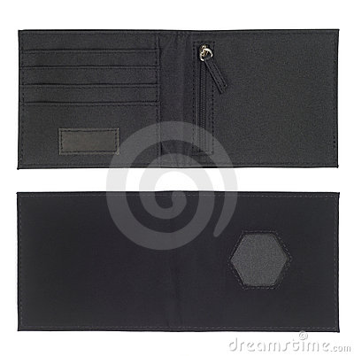 Black Card Holder Wallet