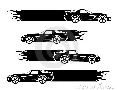 Black cars