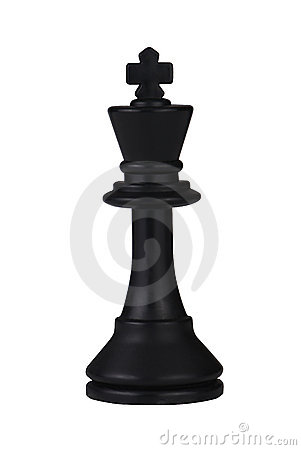 Free Black Chess King Royalty Free Stock Photo - 12046755