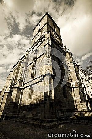 Black church from Brasov