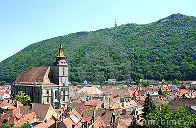 The Black Church from Brasov - Romania