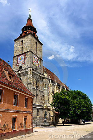 Free Black Church In Brasov, Transylvania, Romania Royalty Free Stock Images - 19856749