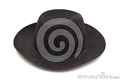 Black classic hat