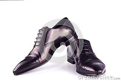 Black classical boots