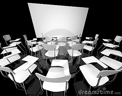 Black classroom