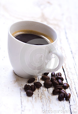 Free Black Coffee Royalty Free Stock Photography - 28520537