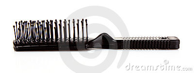 Black Comb Royalty Free Stock Photography - Image: 18881367