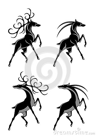 Silhouette Female Deer 551026102 also Digital Collage Of Carved Styled Black And White Safari Boar Rhino Zebra Lion Gorilla And Antelope 100384 besides Bush Wars in addition Tiger besides Oryx Darabie. on antelope at sunset