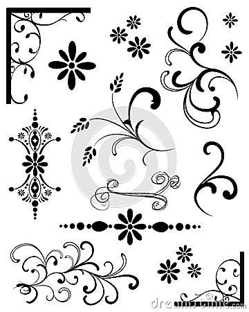 Black Design Elements