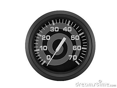 Black dial device