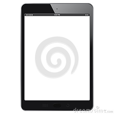 Free Black Digital Tablet Royalty Free Stock Images - 48564739