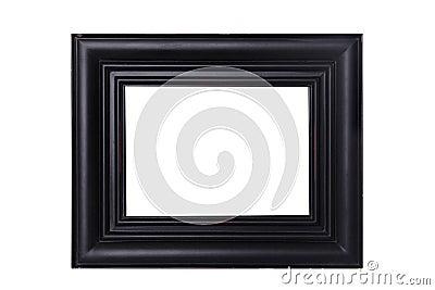 Black Distressed Frame