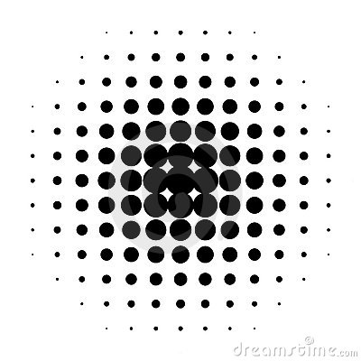 Free Black Dots Royalty Free Stock Photo - 10708375