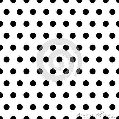 Black Dots Background