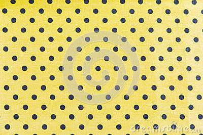 Black dots on Yellow Background
