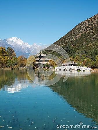 Free Black Dragon Lake At Lijiang, China Stock Photography - 22469992