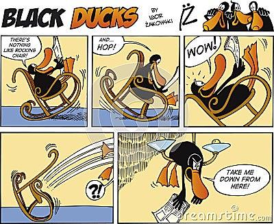Black Ducks Comic Strip episode 2